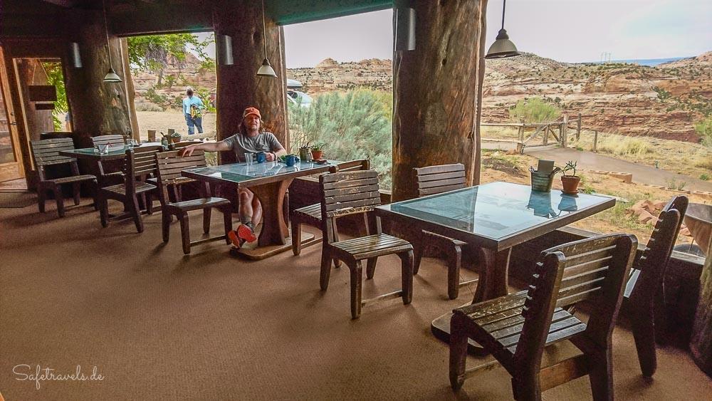 Kiva Koffeehouse - entspannte Pause mit Weitblick