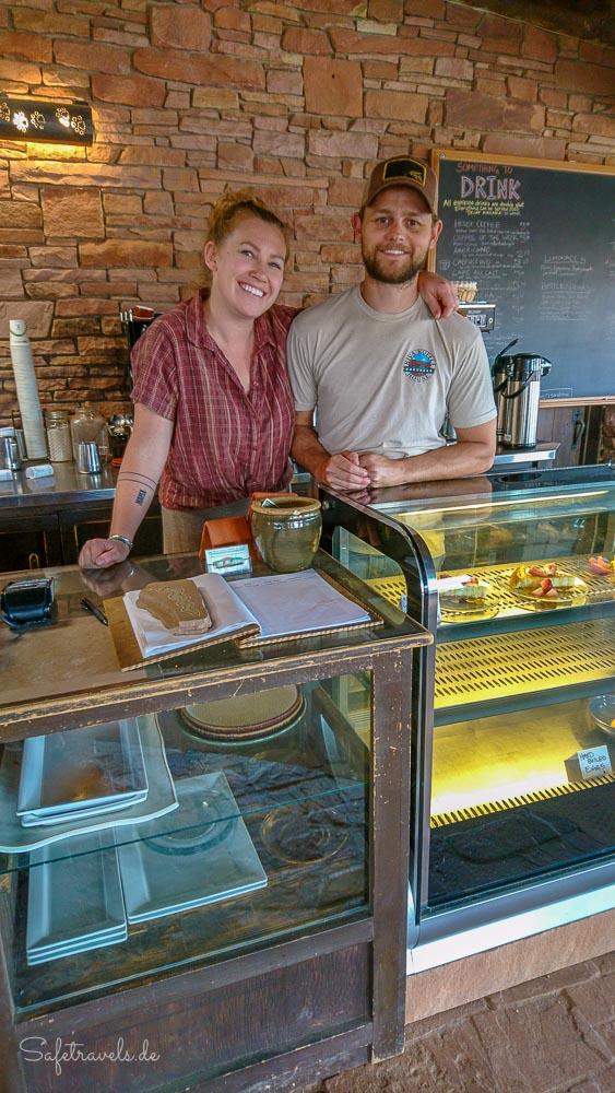 Kiva Koffeehouse - netter Klönschnack mit den Besitzern