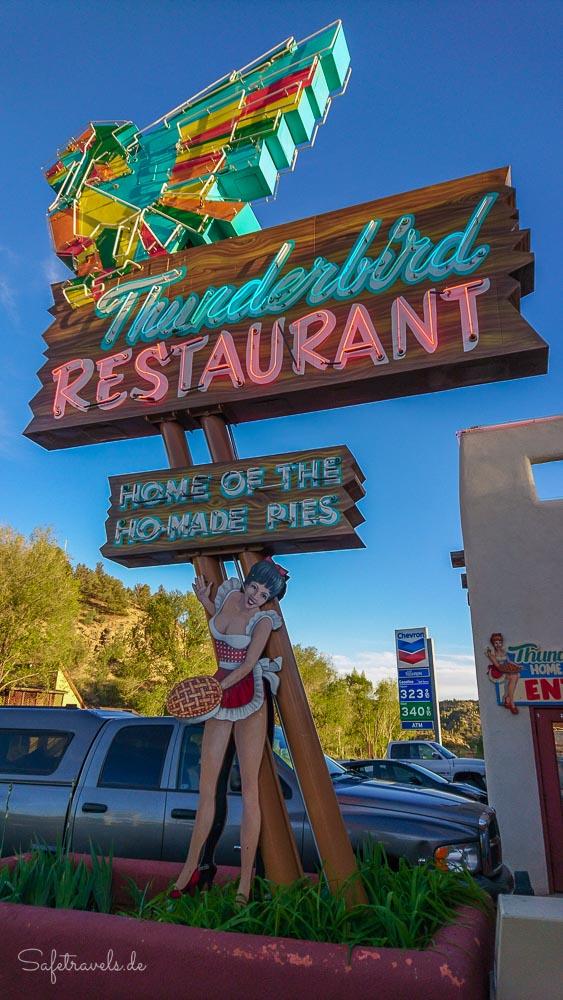 Thunderbird Restaurant - Zion National Park Osteingang