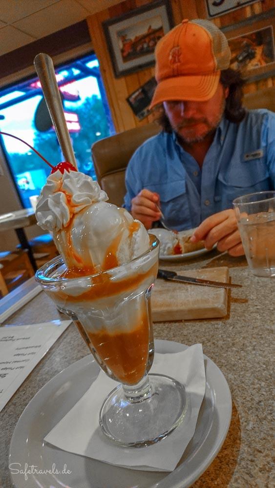 Thunderbird Restaurant - leckeres Dessert