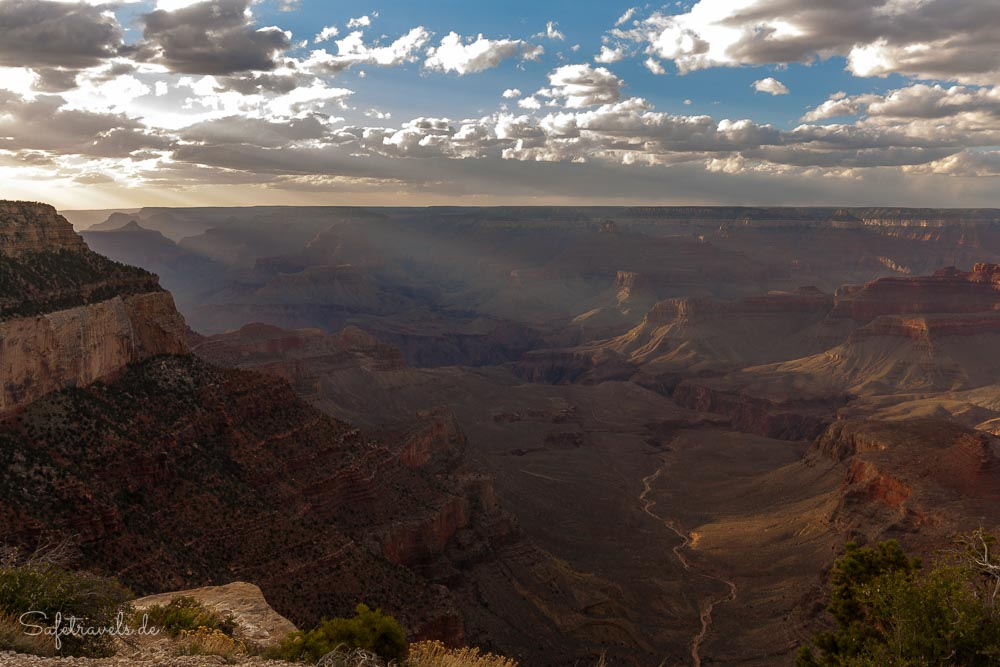 Grand Canyon Sonnenuntergang - magische Stimmung