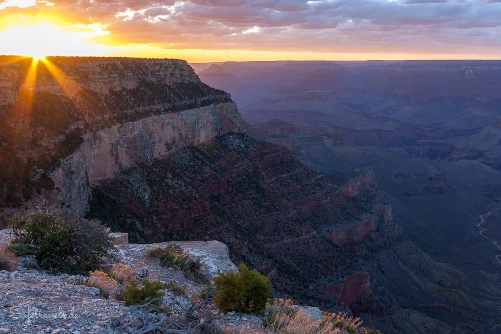 Grand Canyon South Rim Sonnenuntergang