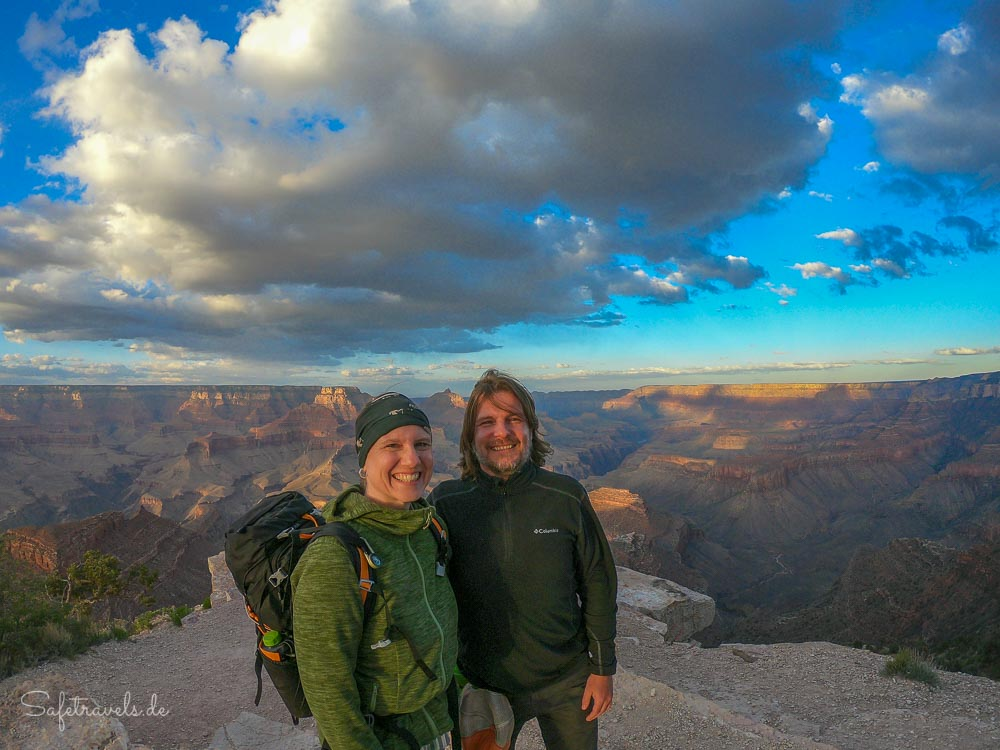 Sonnenuntergang am Grand Canyon South Rim