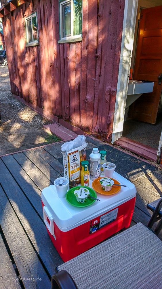 Frühstück im Jacob Lake Inn