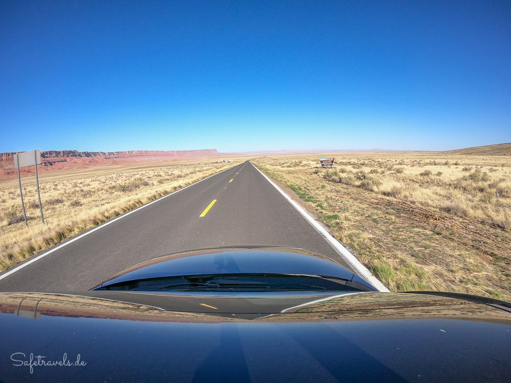 Highway 89A zwischen Marble Canyon und Jacob Lake