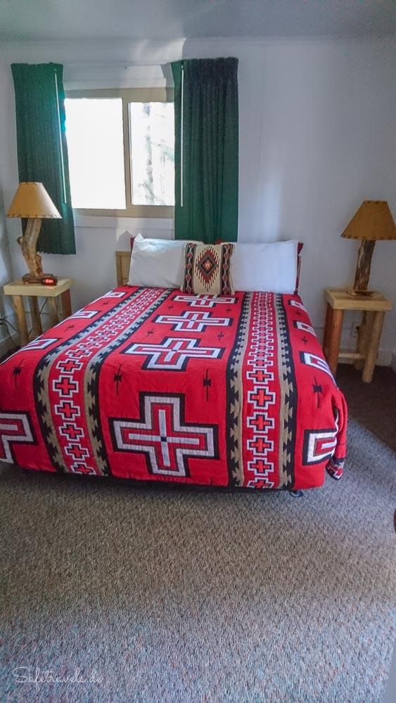 Jacob Lake Inn - Doppel-Cabin Schlafzimmer 1