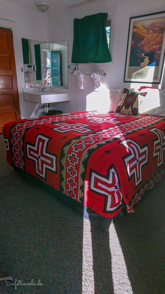 Jacob Lake Inn - Doppel-Cabin Schlafzimmer 2