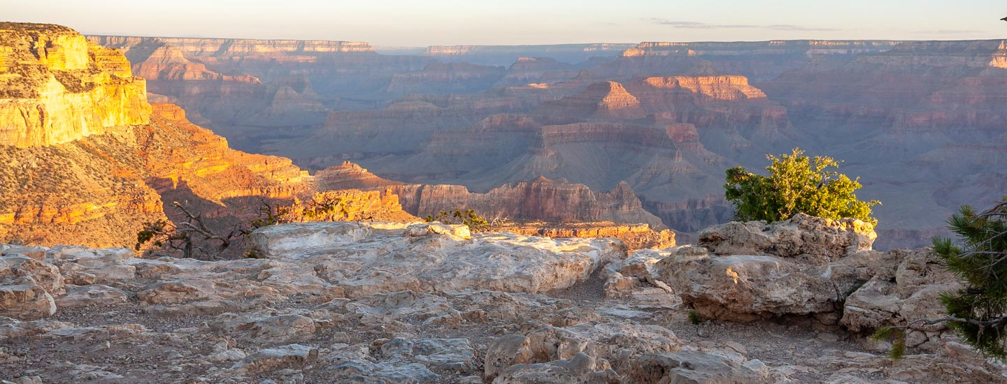 Vom Grand Canyon South Rim zum North Rim Blog Titel