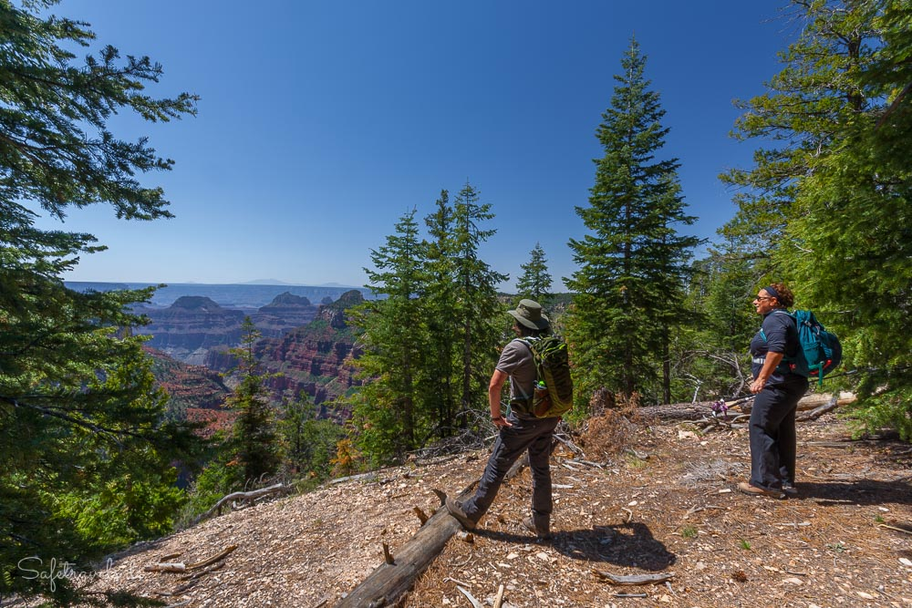 Wandern am Grand Canyon North Rim