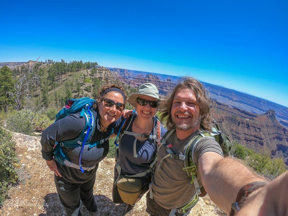 Widforss Point - Am Ende der Grand Canyon Wanderung