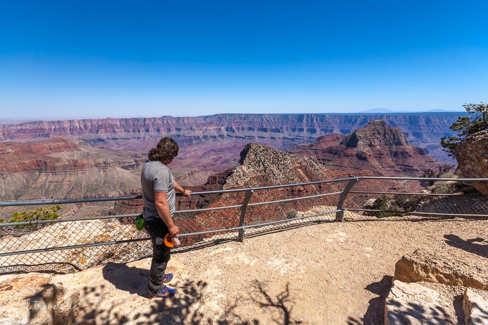 Blick auf Freyas Castle - North Rim Grand Canyon