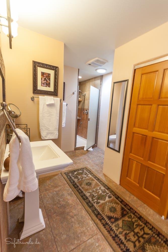 Airbnb Sedona - Badezimmer