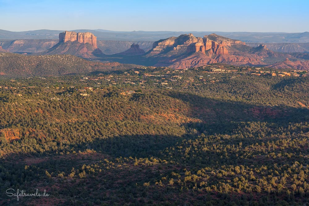 Blick auf den Cathedral Rock in Sedona