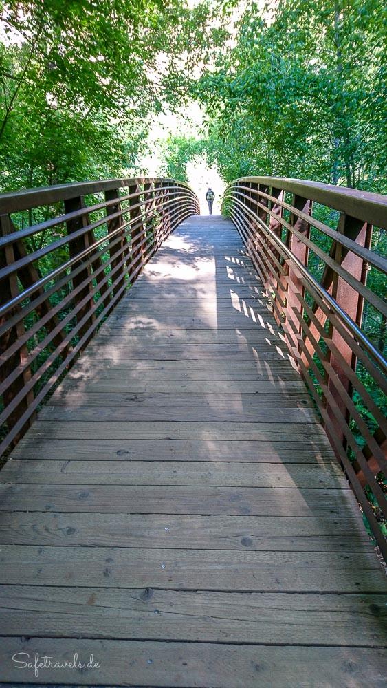 Brücke am Call of the Canyon Trailhead