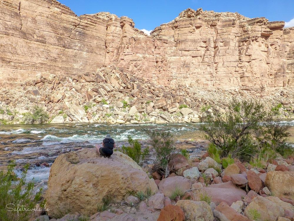 Colorado River - Cathedral Wash Trail