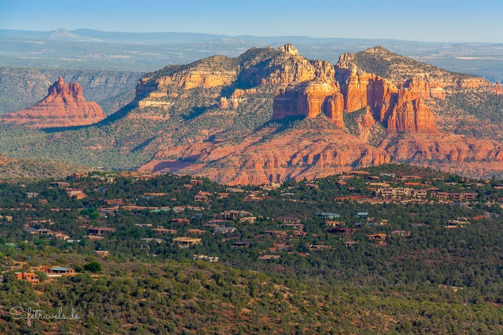Doe Mountain Sedona Sonnenuntergang