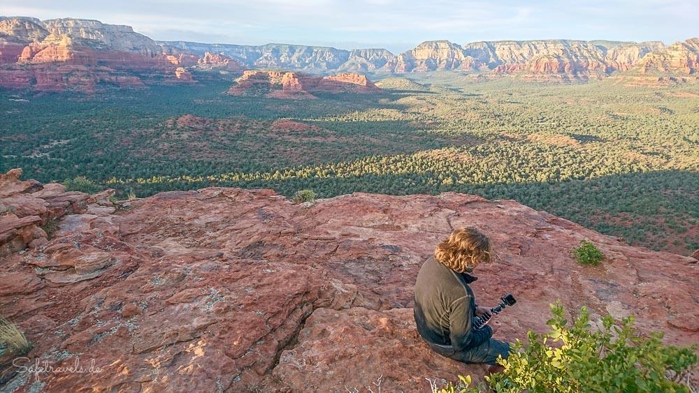 Großartige Aussicht vom Doe Mountain
