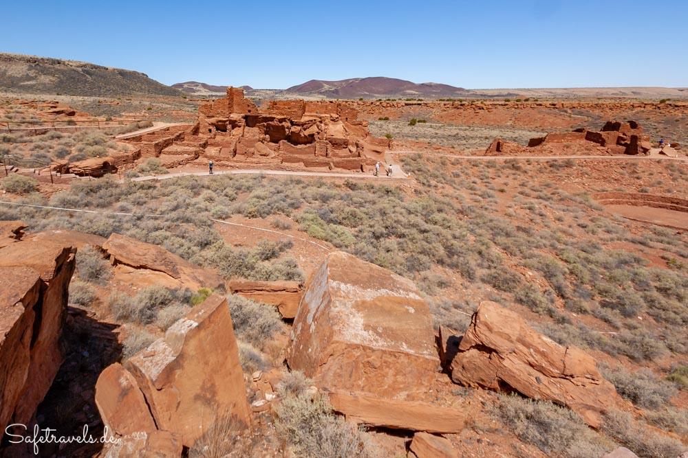 Wupatki Pueblo im Wupatki NM