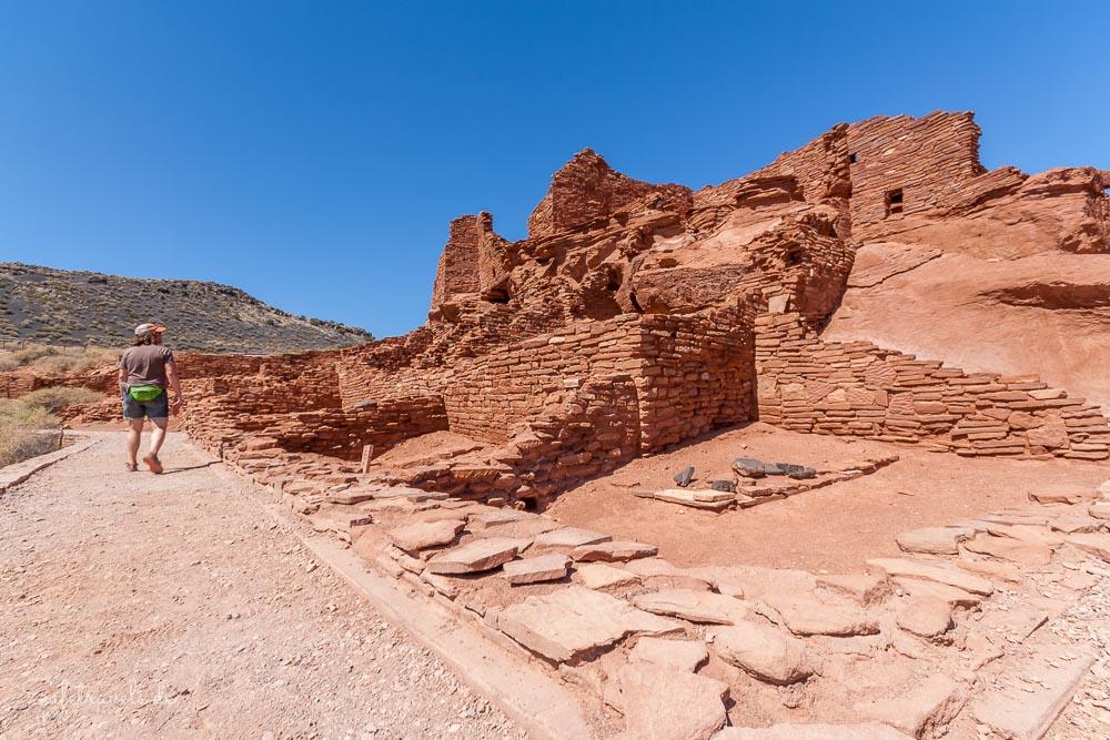 Wupatki Pueblo im Wupatki National Monument