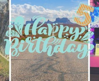 5 Jahre Safetravels Geburtstag Blog Titel