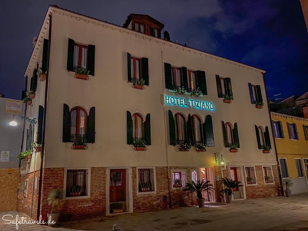 Venedig - Hotel Tiziano in Dorsoduro