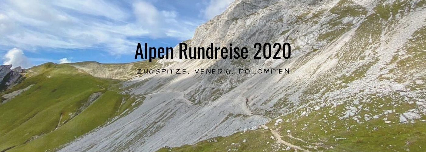Alpen Rundreise 2020 Blog Titel