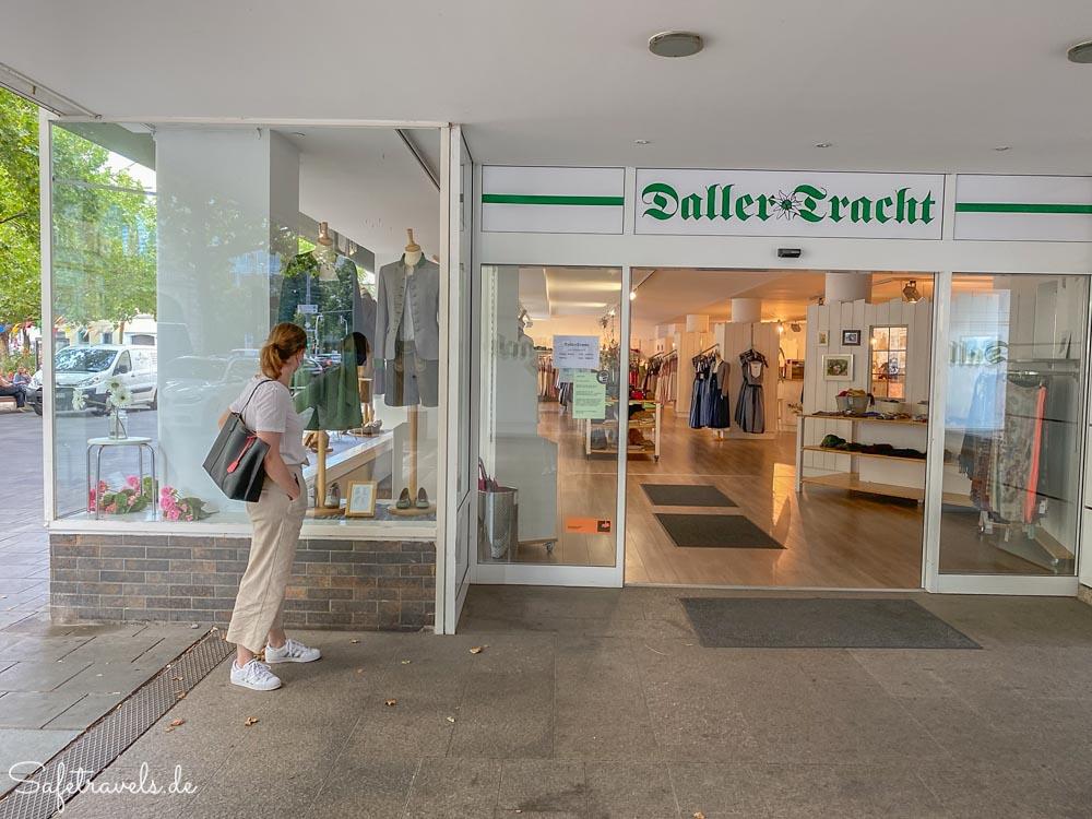 Bei Daller Tracht in München