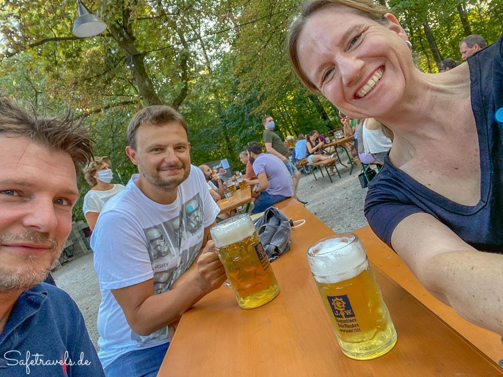 Biergarten am Bavariapark in München
