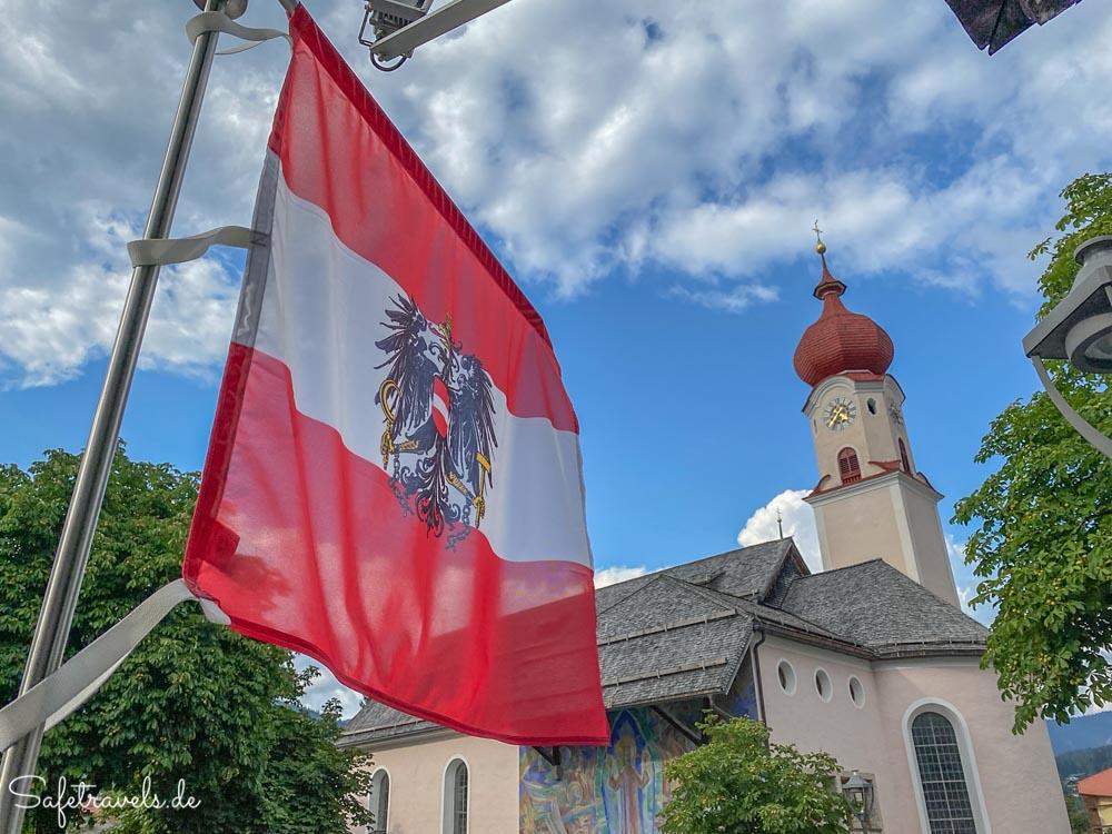 Die Kirche in Ehrwald