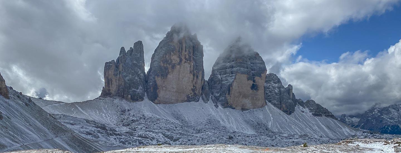 Drei Zinnen Wanderung Dolomiten Blog Titel