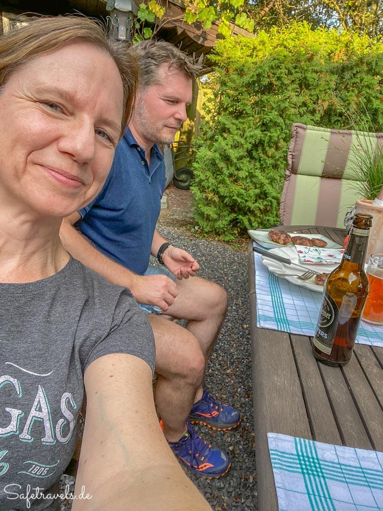 Grillabend bei Freunden in Sundern im Sauerland