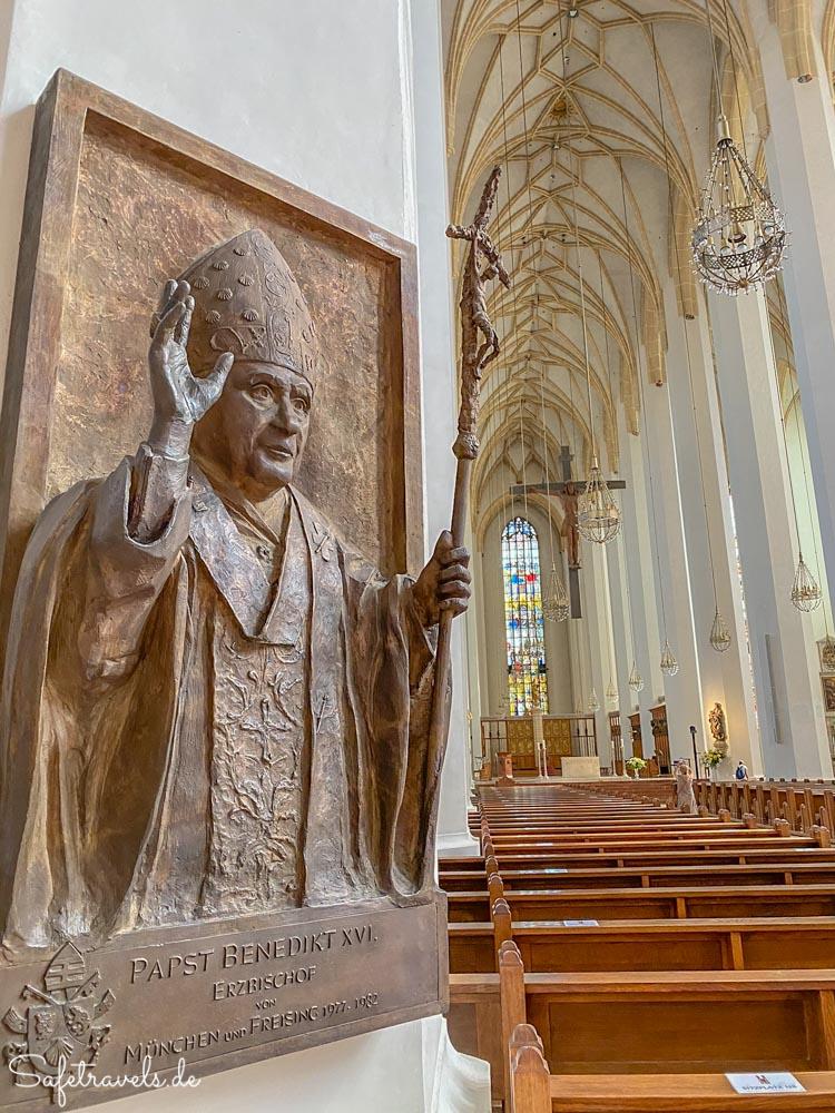 In der Frauenkirche in München
