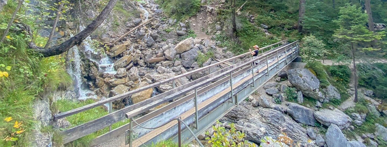 Kuhflucht Wasserfälle Farchant Blog Titel