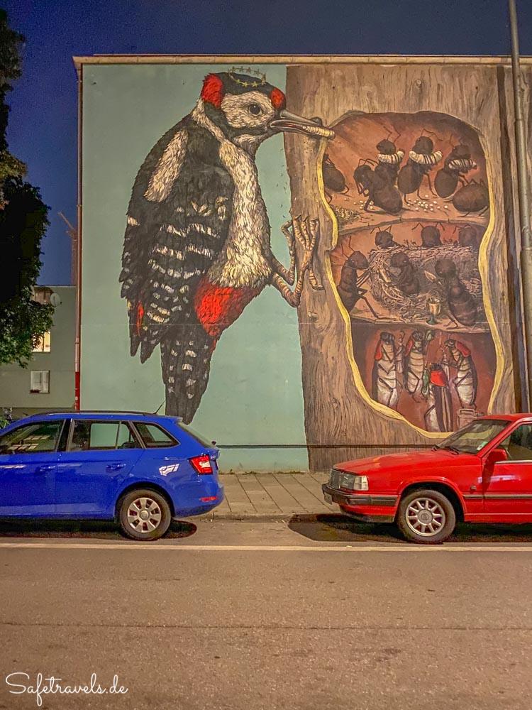 Streetart im Münchener Westend