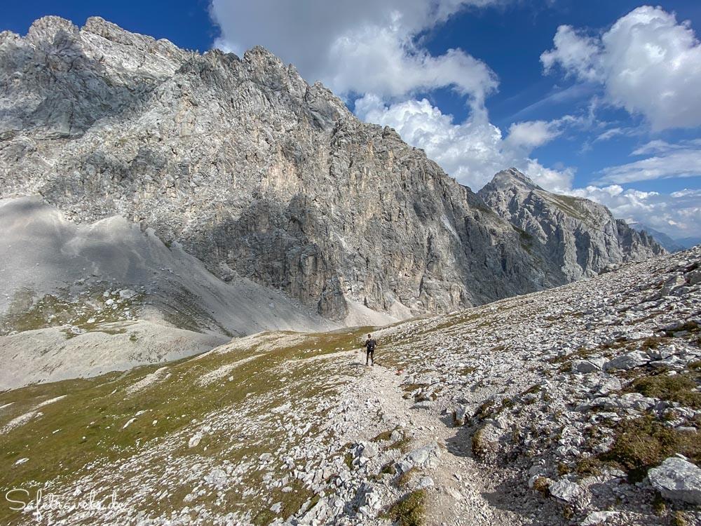 Abstieg vom Höllkopf