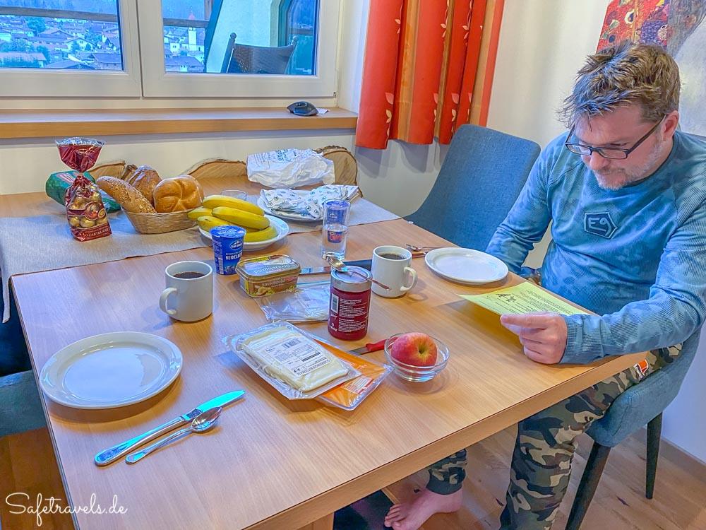 Frühstück in der Villa Buchenhain