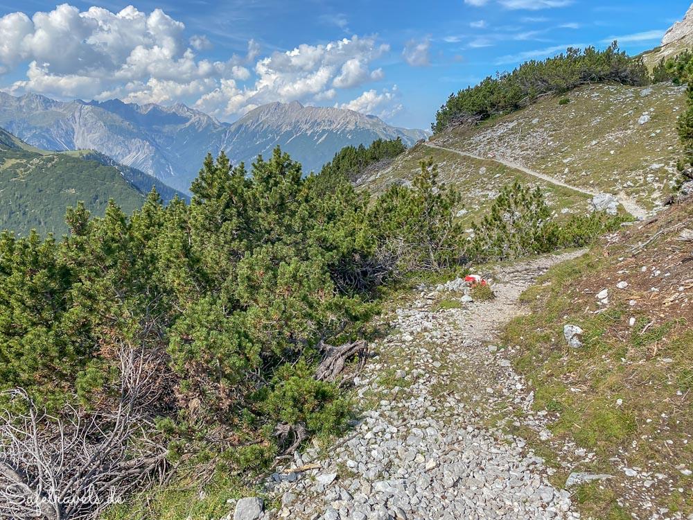 Wanderweg zum Höllkopf