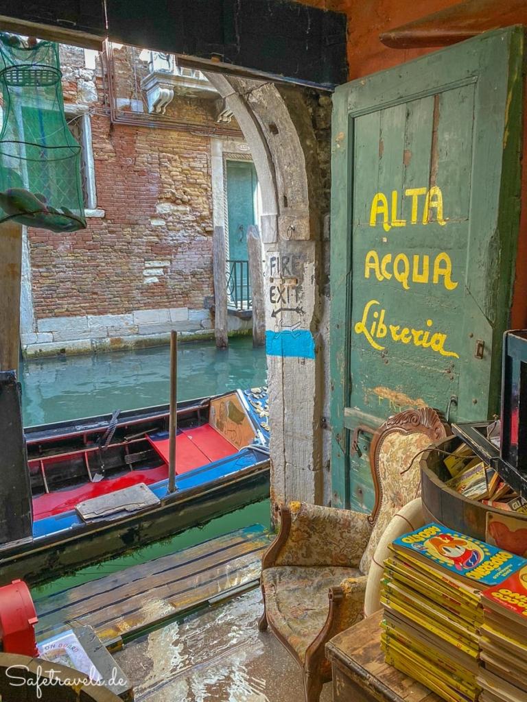 Alta Acqua Libreria in Venedig