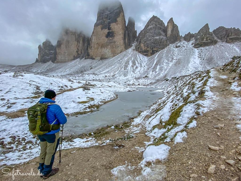 An die Rienz Quelle - Dolomiten