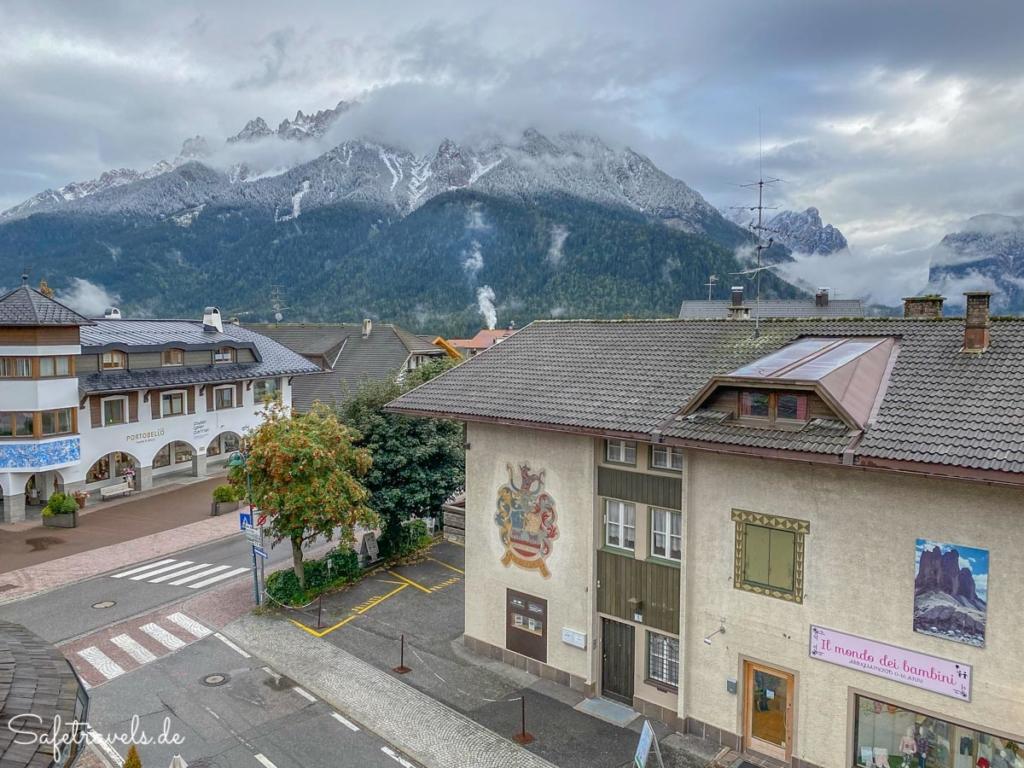 Blick auf den Haunold nach dem Neuschnee - Dolomiten