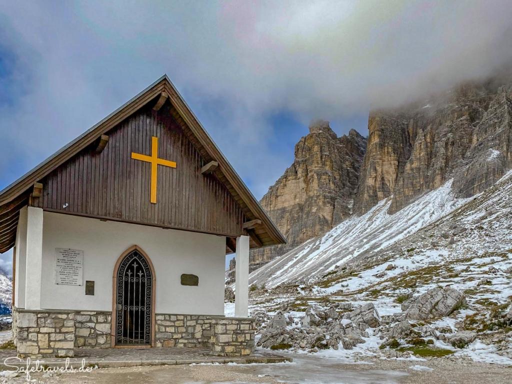 Capella degli Alpini - Umrundung der Drei Zinnen