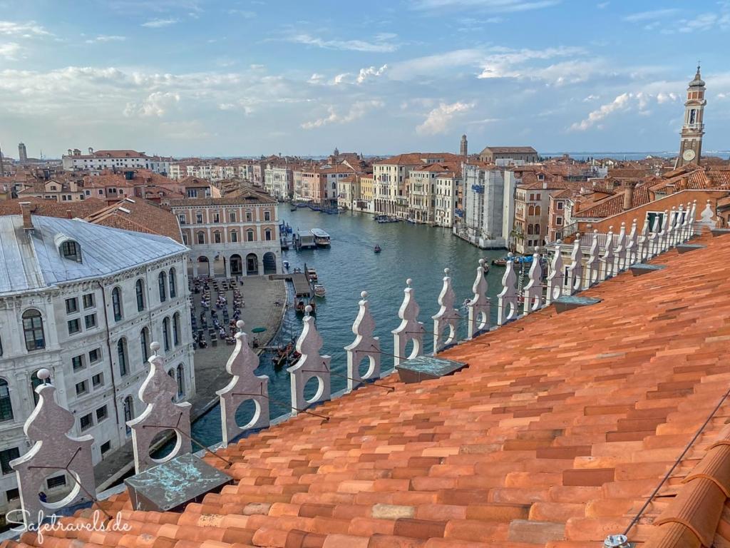 Der schönste Blick auf Venedig - Fondaco dei Tedeschi