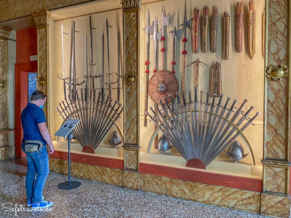Dogenpalast Venedig - Waffensammlung