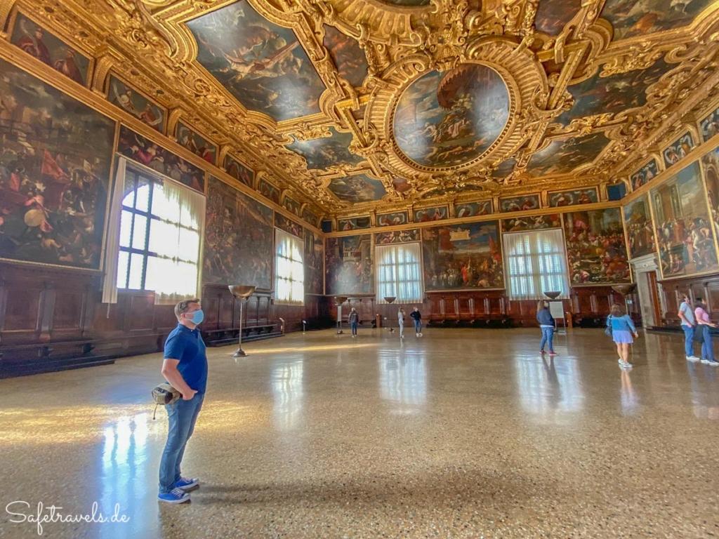Dogenpalast Venedig - großer Saal
