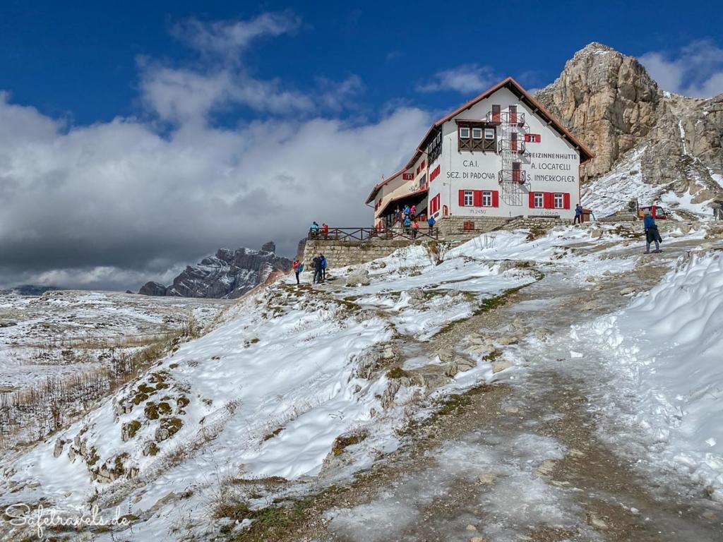 Dreizinnenhütte - Wanderung Drei Zinnen