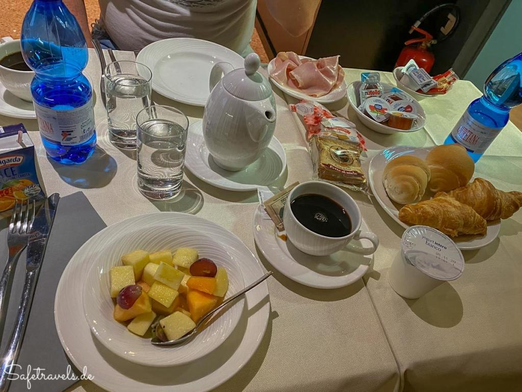 Frühstück im Hotel Tiziano - Venedig
