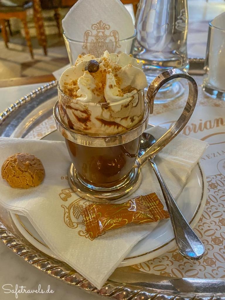 Geburtstagskaffe des Caffe Florian