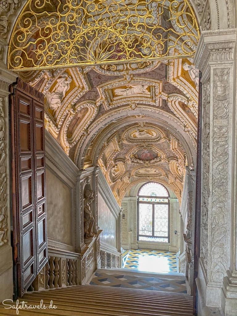 Große Treppe - Dogenpalast Venedig