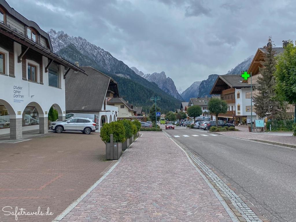 Hauptstraße in Toblach