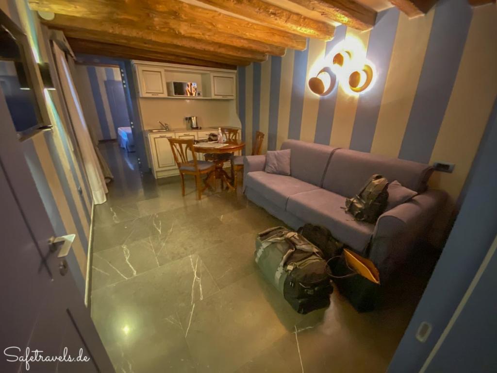 Hotel Tiziano Venedig - Apartment Tiepolo